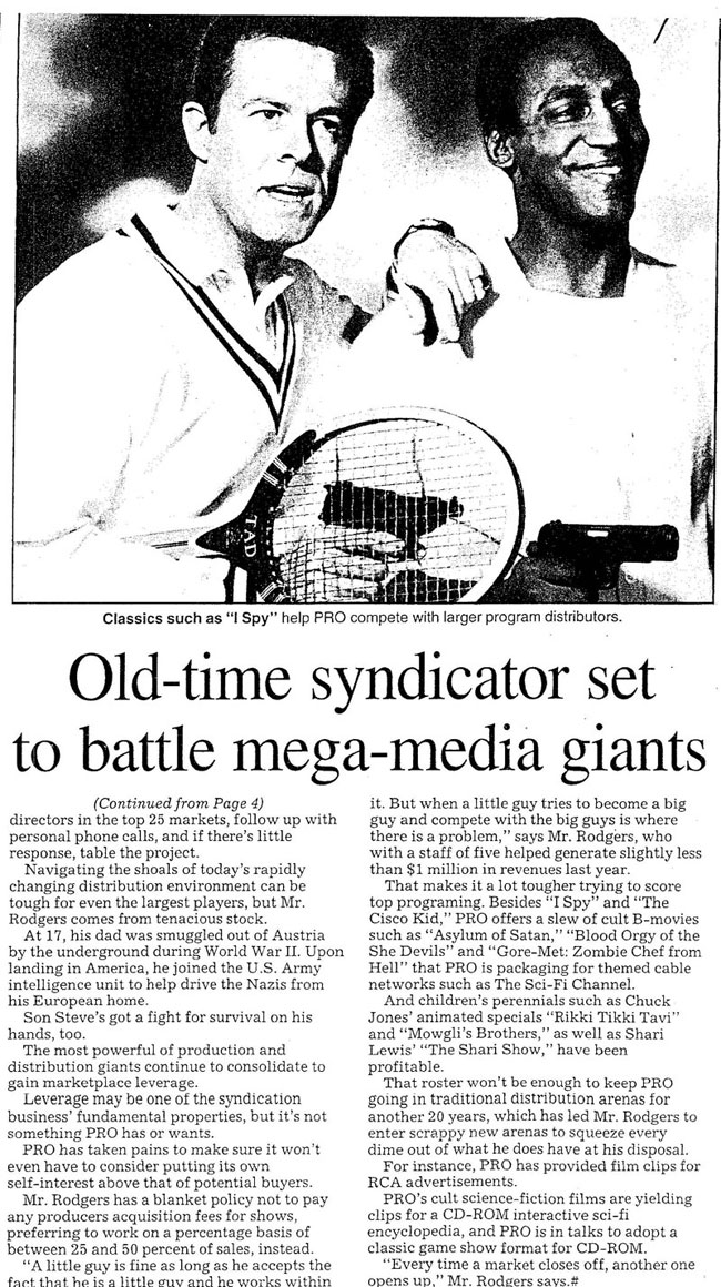 Old-time syndicator set to battle new world mega-media giants